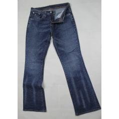 Jeans très evasé, patte d'éléphant Levi's  pas cher