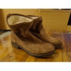 Santiags, bottines, low boots cowboy La Redoute  pas cher
