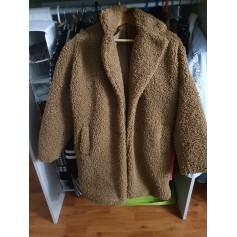 Manteau en fourrure Naf Naf  pas cher