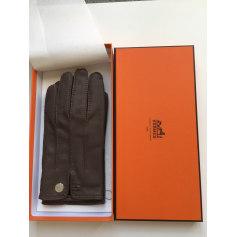 Gants Hermès  pas cher