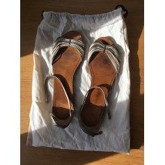 Sandales plates  Petite Mendigote  pas cher