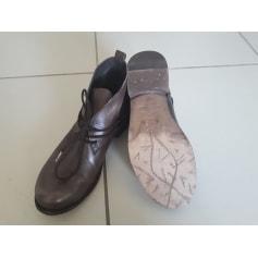 Bottines & low boots plates Felmini  pas cher