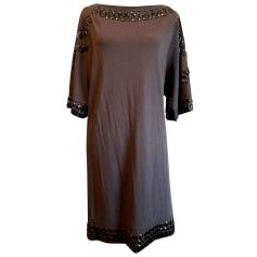 Robe mi-longue Blumarine  pas cher