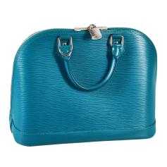 Handtasche Leder Louis Vuitton Alma