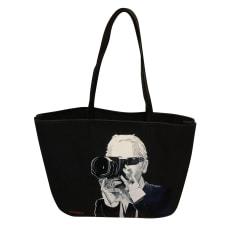 Sac à main en tissu Karl Lagerfeld  pas cher