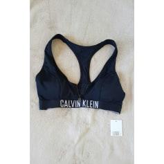 Maillot de bain deux-pièces Calvin Klein  pas cher
