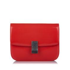Leather Shoulder Bag Céline Classic Box