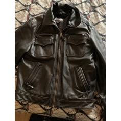 Leather Zipped Jacket Schott