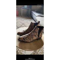 Bottines & low boots plates Gémo  pas cher