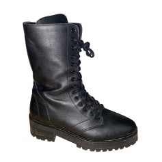 Bottines & low boots motards The Kooples  pas cher