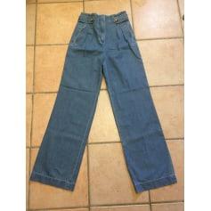 Jeans évasé, boot-cut Sézane  pas cher