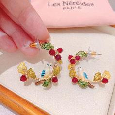 Boucles d'oreille Les Néréides  pas cher