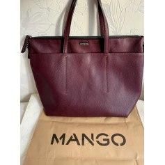 Sac à main en cuir Mango  pas cher