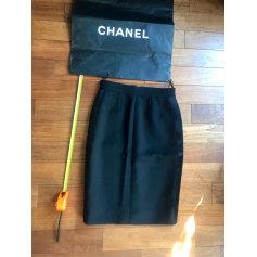 Jupe mi-longue Chanel  pas cher