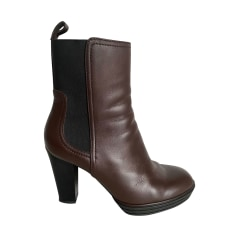 High Heel Ankle Boots Hogan