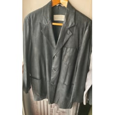 Manteau en cuir Seraphin  pas cher