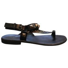 Sandales plates  Zadig & Voltaire  pas cher