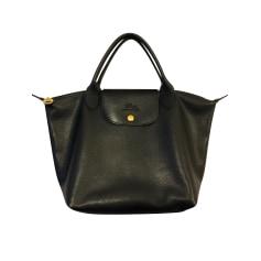 Lederhandtasche Longchamp Pliage