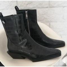 Cowboy Ankle Boots Zara