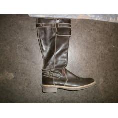 Flache Stiefel Kickers