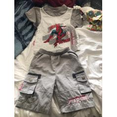 Anzug, Set für Kinder, kurz Spiderman