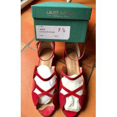 Sandales à talons Laure Bassal  pas cher