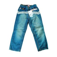 Jeans droit Roberto Cavalli  pas cher