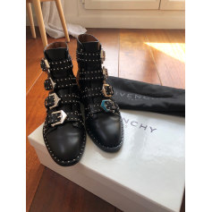 Bottines & low boots motards Givenchy  pas cher