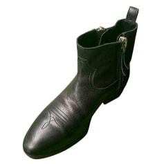 Santiags, bottines, low boots cowboy Golden Goose  pas cher