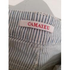 Pantalon slim, cigarette Camaieu  pas cher