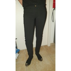 Pantalon slim, cigarette Made In Italie  pas cher