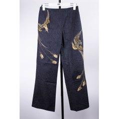 Jeans droit Thierry Mugler  pas cher