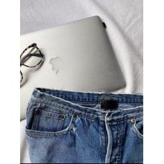 Jeans large, boyfriend Saint Laurent  pas cher