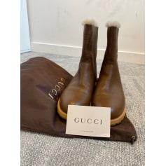 Bottes plates Gucci  pas cher