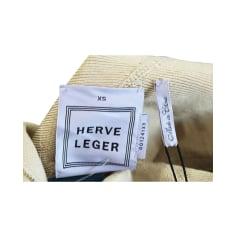 Robe courte Herve Leger  pas cher