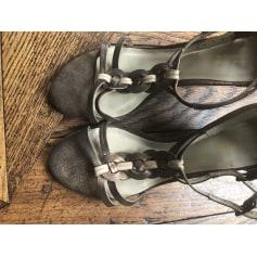 Sandales compensées Comptoir Des Cotonniers  pas cher