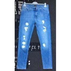 Jeans large, boyfriend Lee Cooper  pas cher