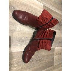 Bottines & low boots à talons Rieker  pas cher