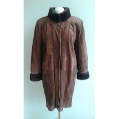 Manteau en cuir La Canadienne  pas cher