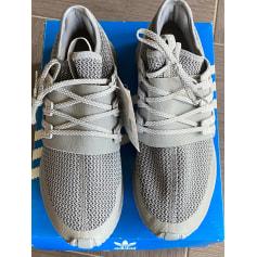 Chaussures Adidas Homme Toile Gris, anthracite au meilleur prix ...