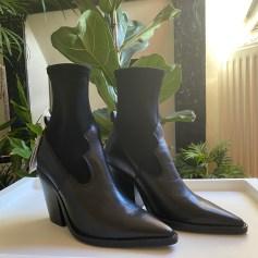 Cowboy Ankle Boots Mango