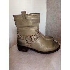 Bottines & low boots plates Suredelle  pas cher