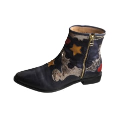 Santiags, bottines, low boots cowboy Melvin & Hamilton  pas cher