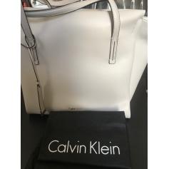 Schultertasche Leder Calvin Klein