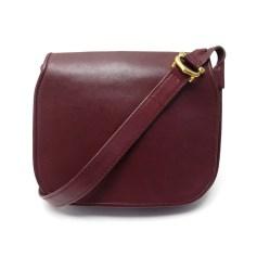 Lederhandtasche Cartier