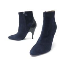 Bottines & low boots à talons Hermès  pas cher