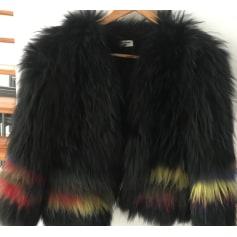 Manteau en fourrure Zadig & Voltaire  pas cher