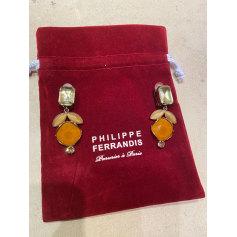 Boucles d'oreilles Philippe Ferrandis  pas cher
