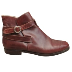 Bottines & low boots plates Bally  pas cher