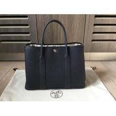 Lederhandtasche Hermès Garden Party
